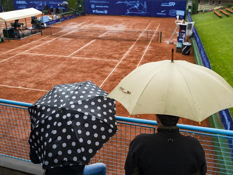 Mužské i ženské finále na Bratislava Open preložili pre dážď
