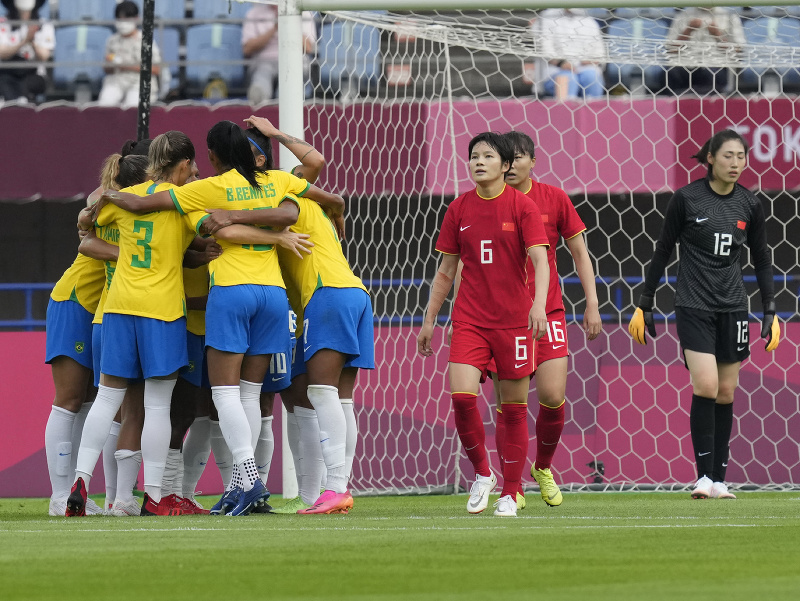 Brazílčanka Marta dvoma gólmi prispela k triumfu nad Čínou