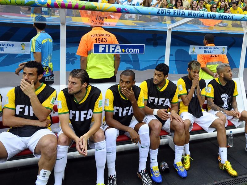 Smutná lavička Brazílie