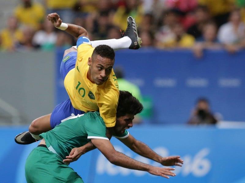 Brazília nestrelila gól ani Iraku.