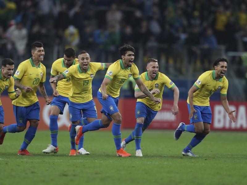 Futbalisti Brazílie neskrývali obrovskú radosť