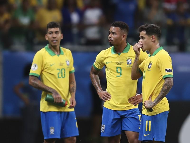 Sklamaní Roberto Firmino, Gabriel Jesus a Philippe Coutinho