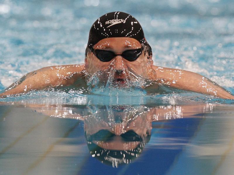 Austrálsky plavec Brenton Rickard