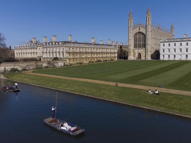 Priestory univerzity Cambridge