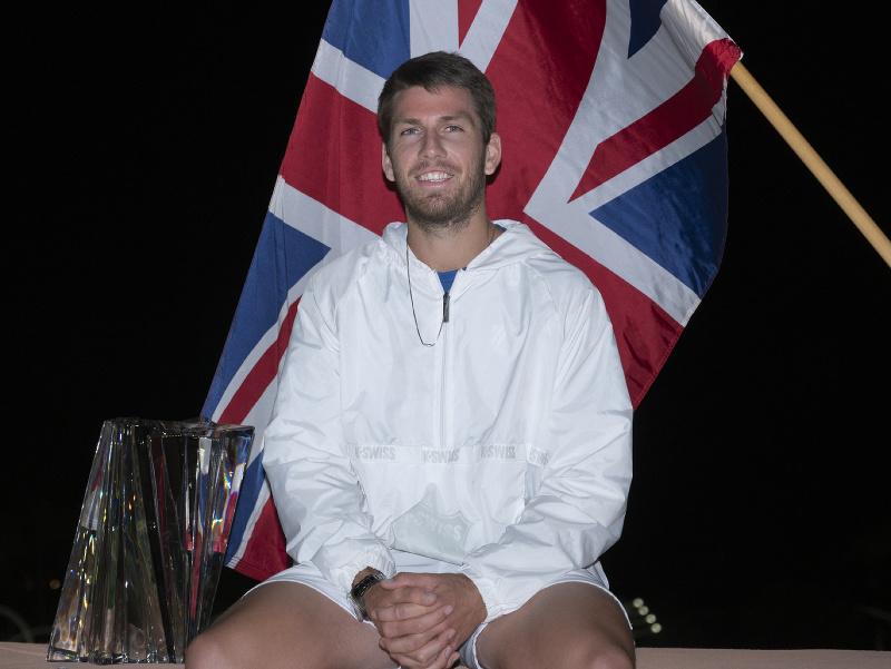 Cameron Norrie sa stal víťazom turnaja v Indian Wells