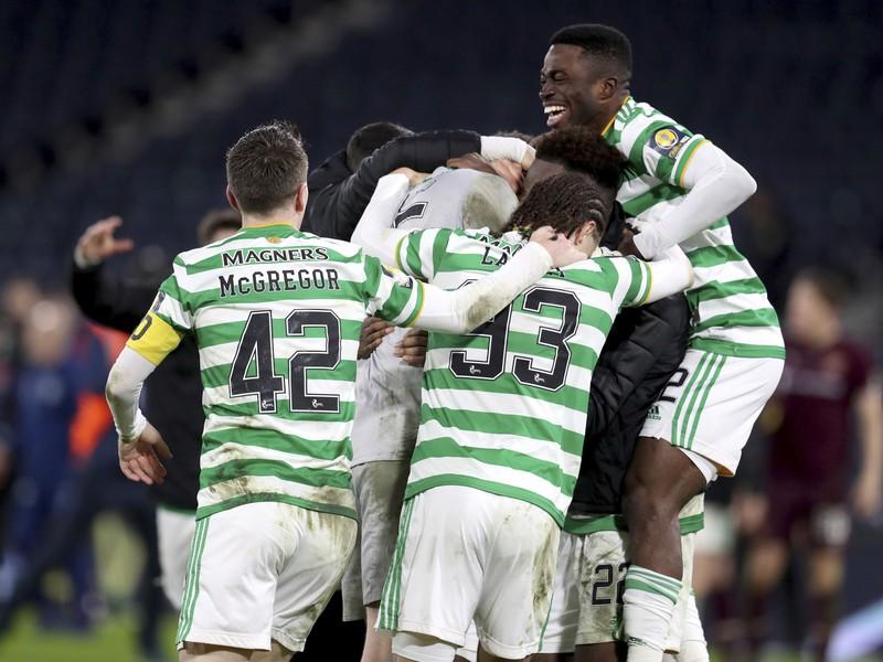 Radosť futbalistov Celticu