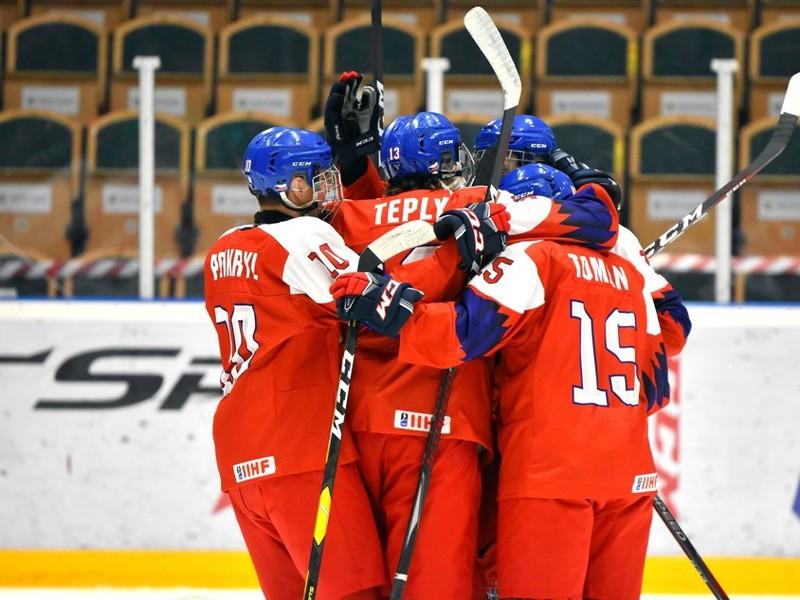 Českí mladíci porazili aj Fínsko