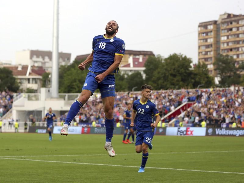 Vedat Muriqi a jeho gólové oslavy