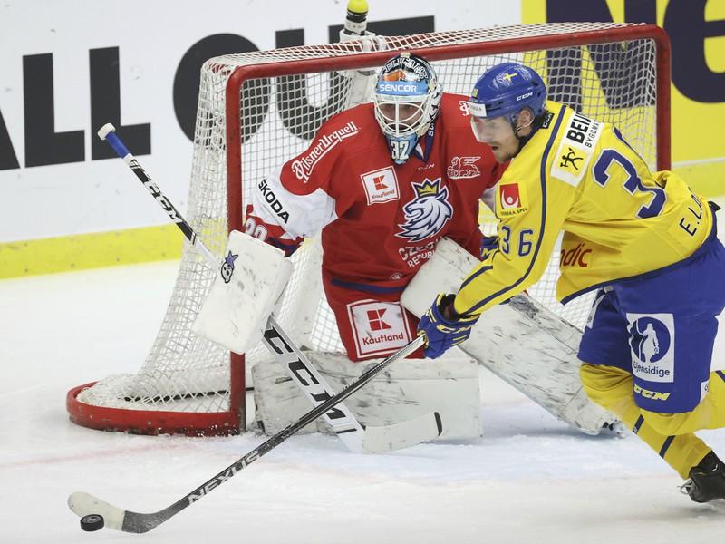 Patrik Bartošák a Emil Larssson