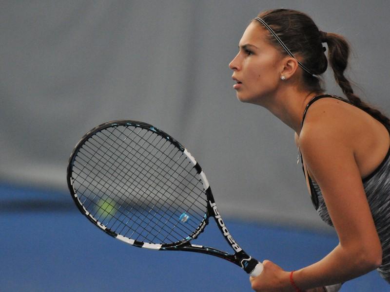 Slovenská tenistka Chantal Škamlová