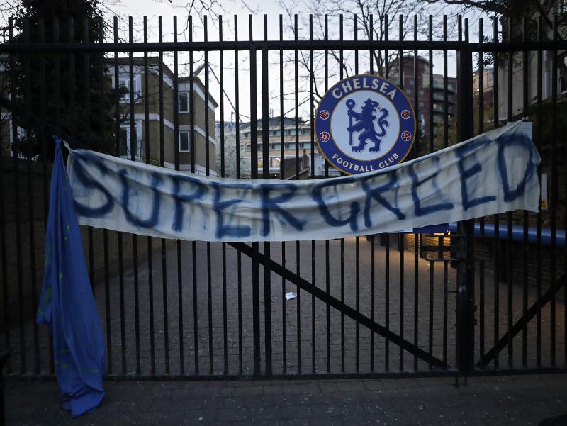 Ani fanúšikom Chelsea sa projekt Európskej Superligy vôbec nepáčil