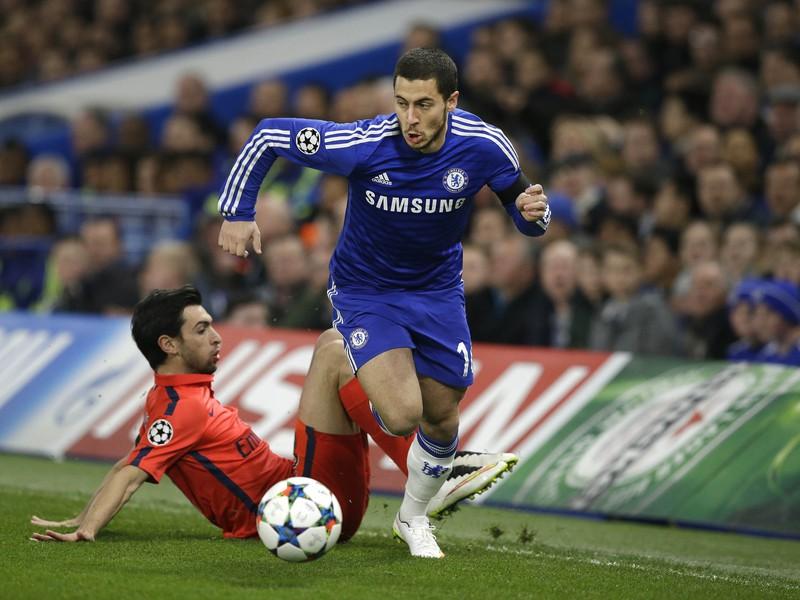Eden Hazard a Javier Pastore