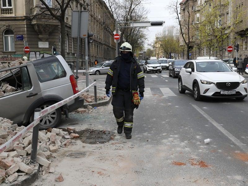 Po zemetrasení v Chorvátsku
