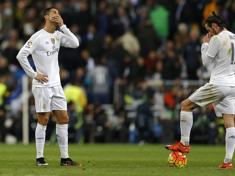 Gareth Bale a Cristiano Ronaldo