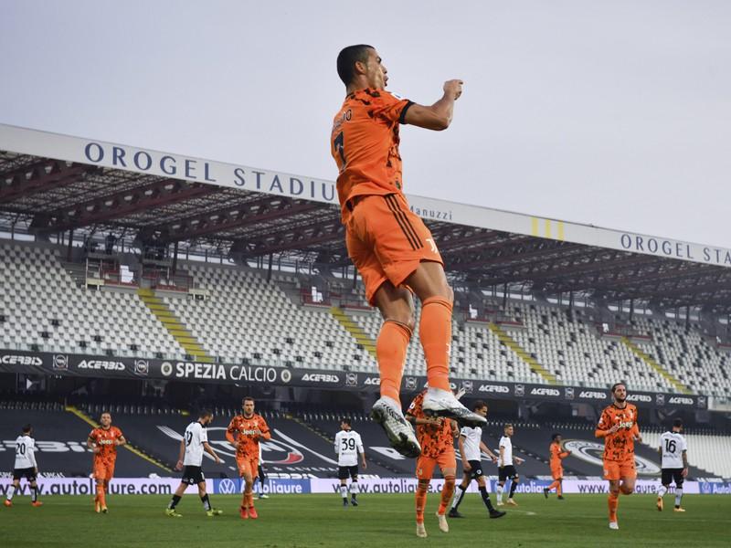 Cristiano Ronaldo žiaril po návrate z karantény