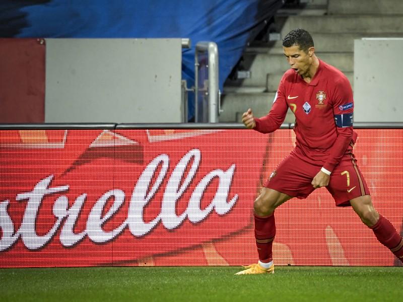 Cristiano Ronaldo zostrelil Švédov dvoma gólmi
