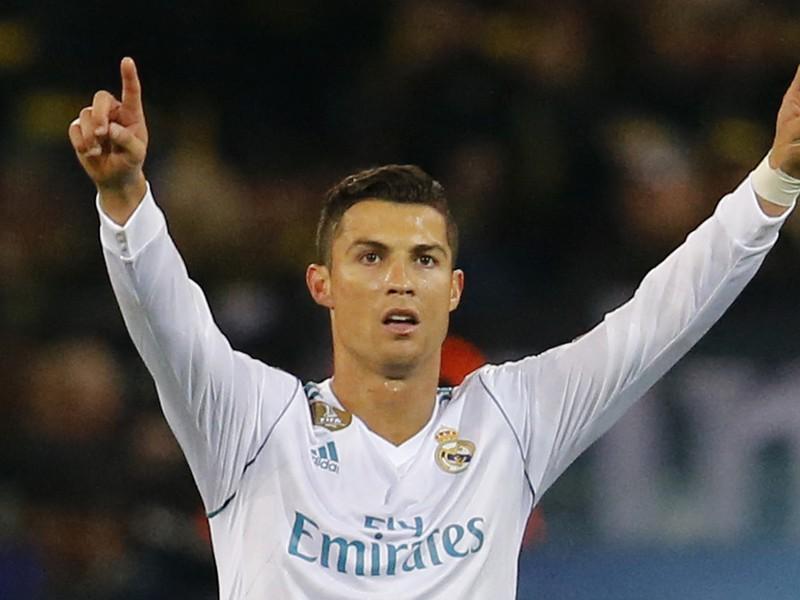 Cristiano Ronaldo sa raduje z gólu