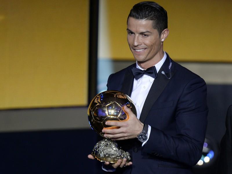 Cristiano Ronaldo získla tretíkrát Zlatú loptu
