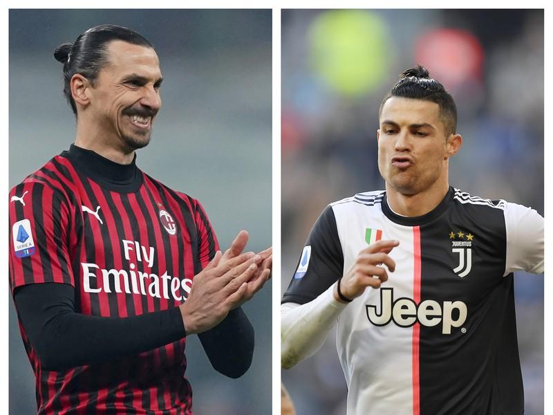 Zlatan Ibrahimovič vs. Cristiano Ronaldo