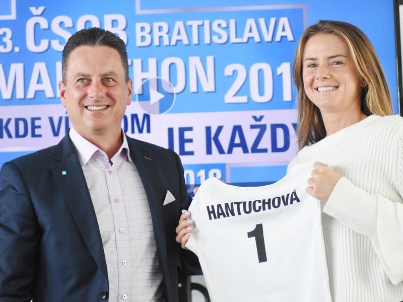 Daniela Hantuchová je ambasádorkou 13. ročníka ČSOB Bratislava Marathonu