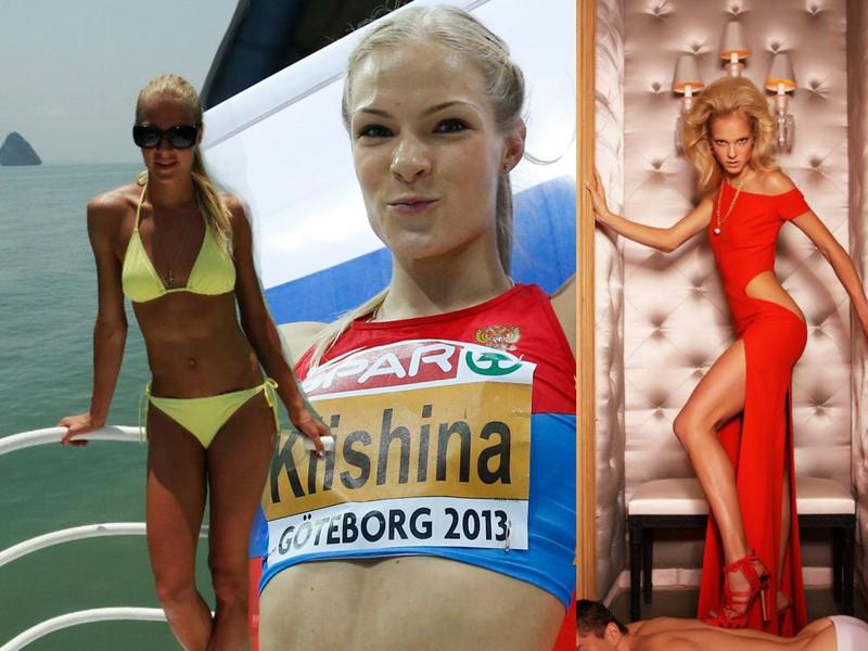 Darja Klišinová je často označovaná za najviac sexi atlétku planéty