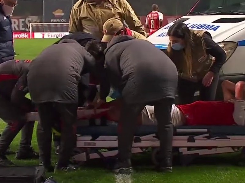 Obranca David Carmo utrpel hrozivú zlomeninu