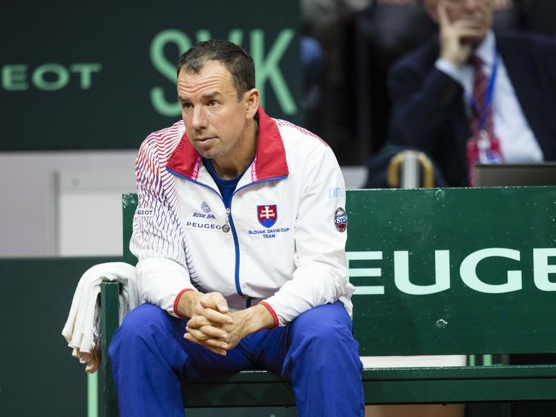 Nehrajúci kapitán slovenského tímu Dominik Hrbatý