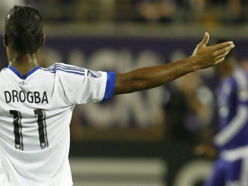 Didier Drogba sa raduje z gólu