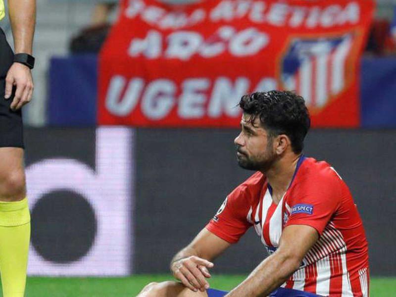Zranený Diego Costa