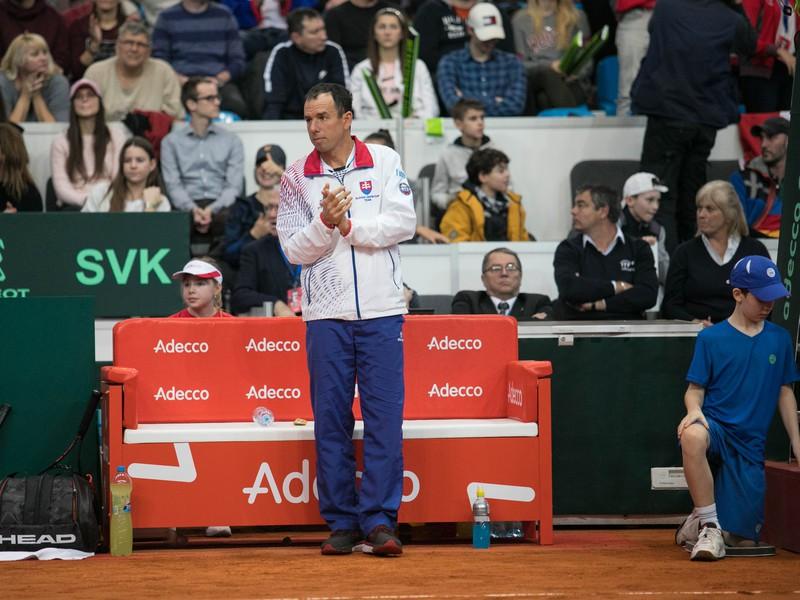 Dominik Hrbatý na lavičke Slovenska