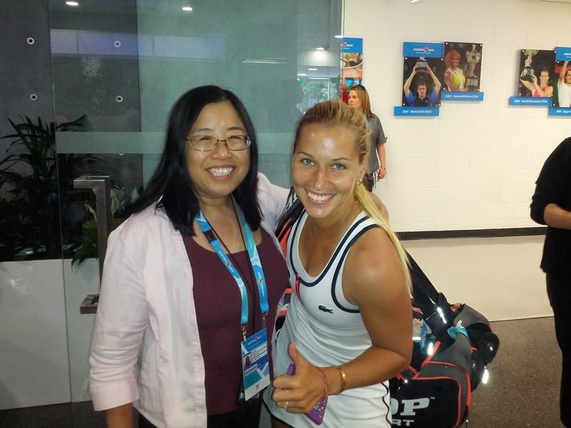 Víťazka Ava Chan s Dominikou Cibulkovou