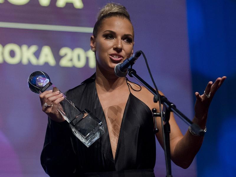 Dominika Cibulková si prevzala ocenenie Tenistka roka 2016