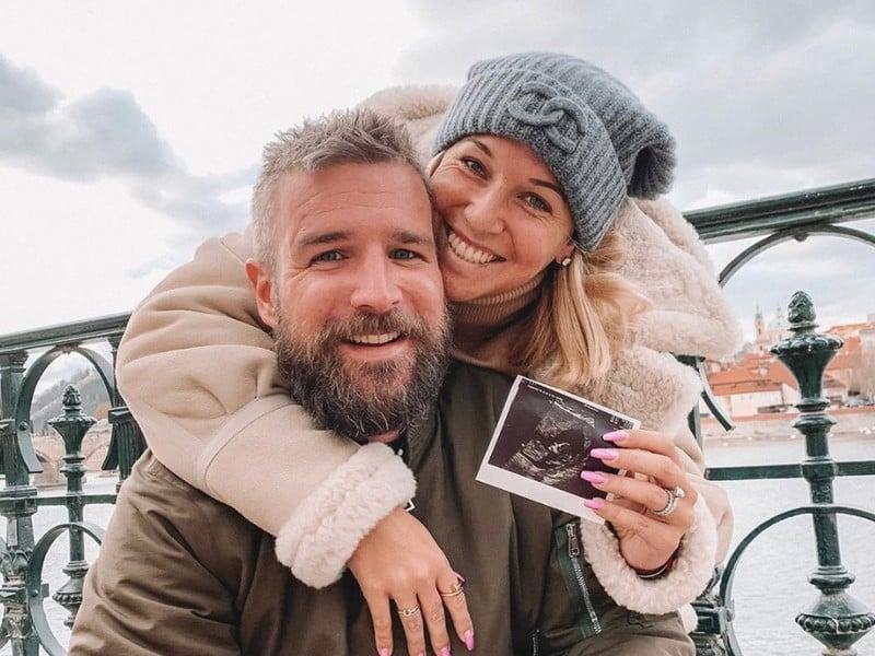 Dominika Cibulková s manželom Michalom čakajú bábätko