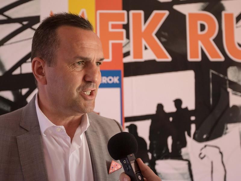 Športový a marketingový riaditeľ MFK Ružomberok Dušan Tittel