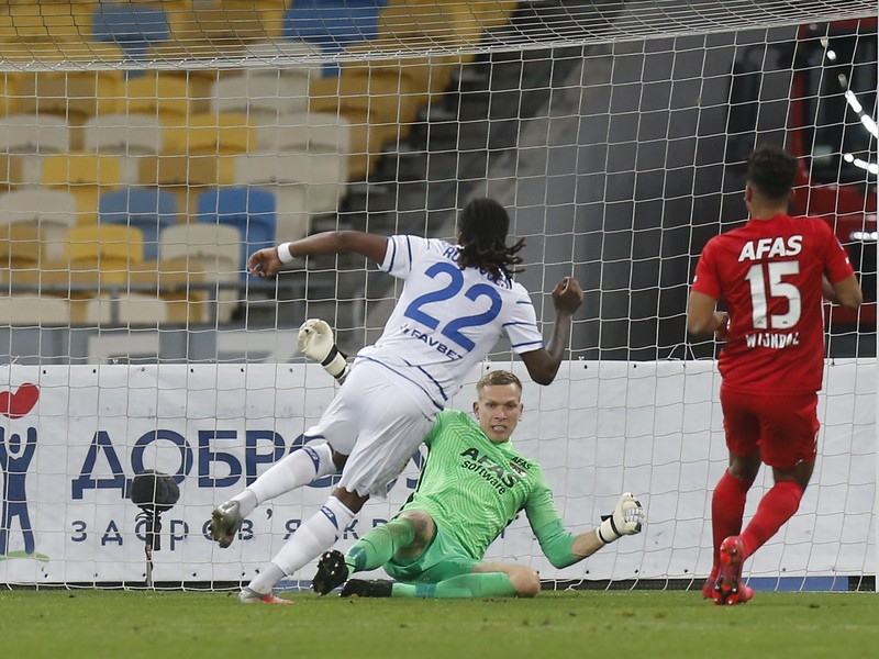 Gerson Rodrigues strieľa gól