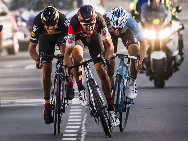 Belgický cyklista Greg Van Avermaet