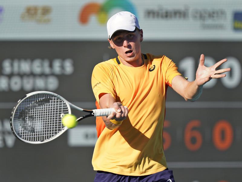 Fínsky tenista Emil Ruusuvuori