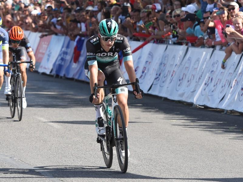 Na snímke slovenský cyklista Erik Baška