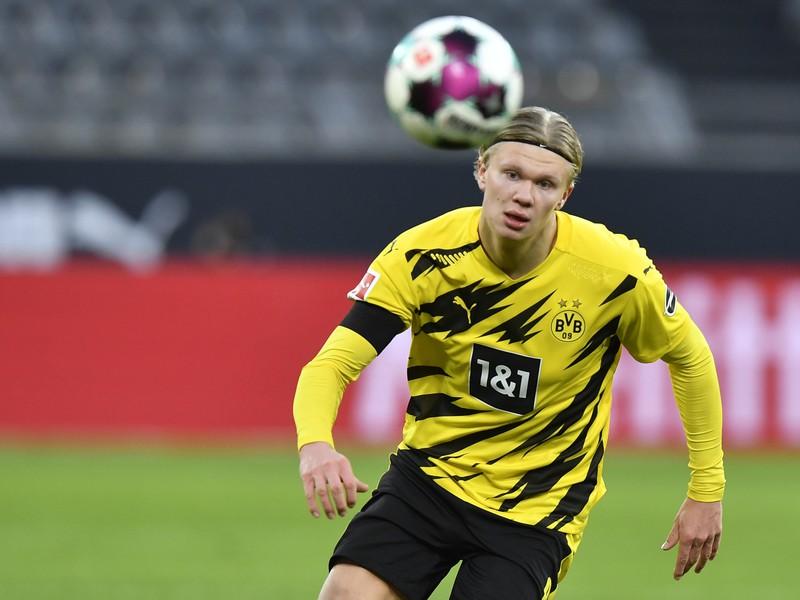 Nórsky útočník Erling Haaland v službách Borussie Dortmund