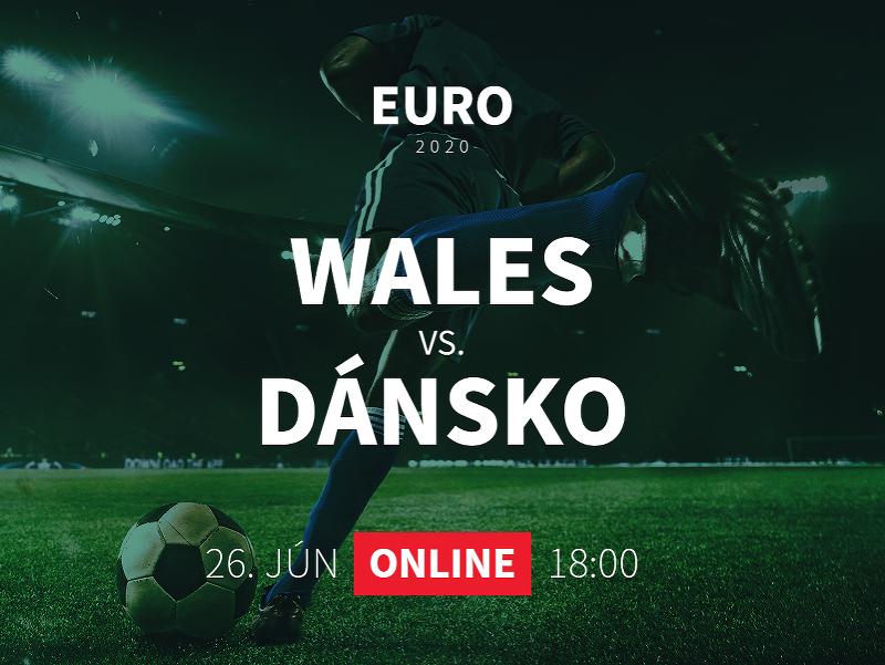 EURO 2020: Wales - Dánsko