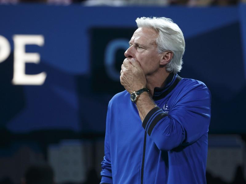 Bjorn Borg na lavičke tímu Európy
