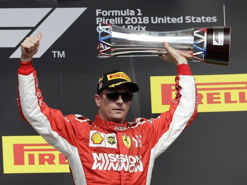 Kimi Räikkönen zvíťazil na Veľkej cene USA