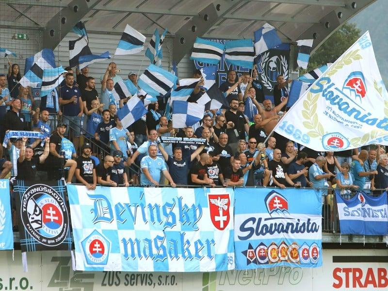 Fanúšikovia ŠK Slovan Bratislava