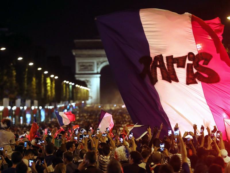 Radosť francúzskych fanúšikov po postupe do finále