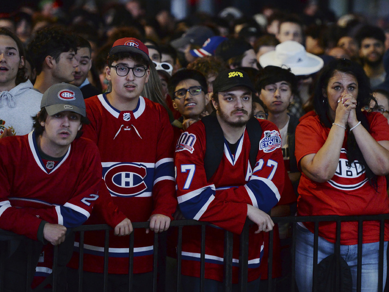 Fanúšikovia Montrealu Canadiens