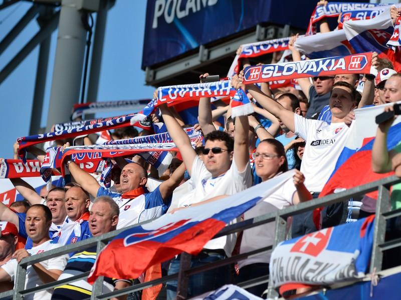 Slovenskí fanúšikovia v Poľsku