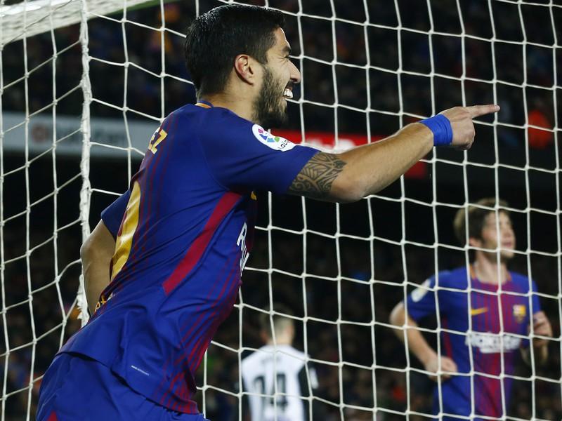 Luis Suárez strelil jediný gól