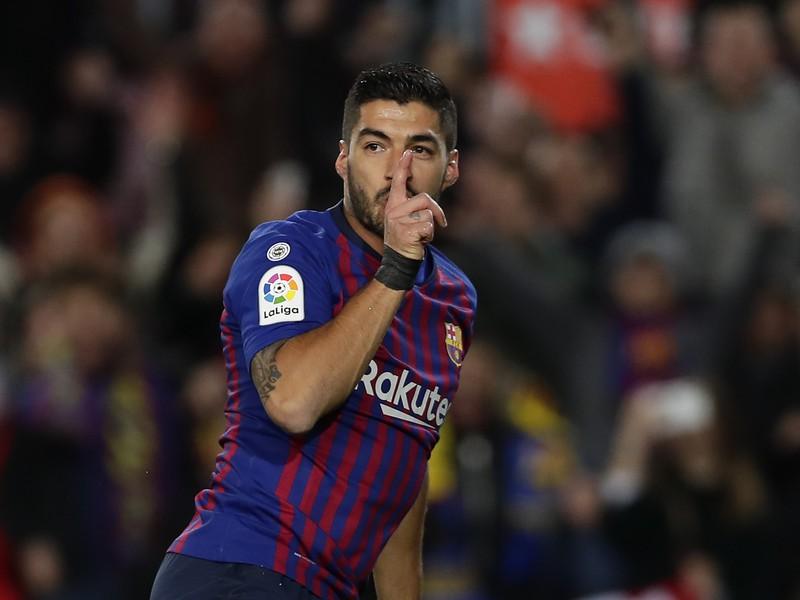 Luis Suárez a jeho gólové oslavy