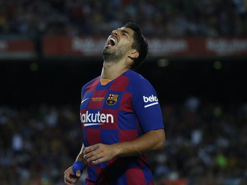 Luis Suárez v drese FC Barcelona