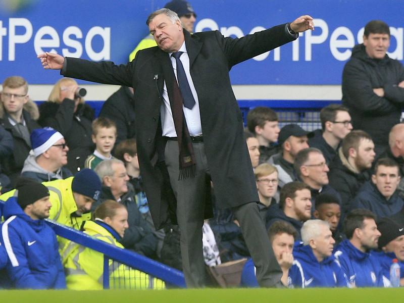Kouč Evertonu Sam Allardyce